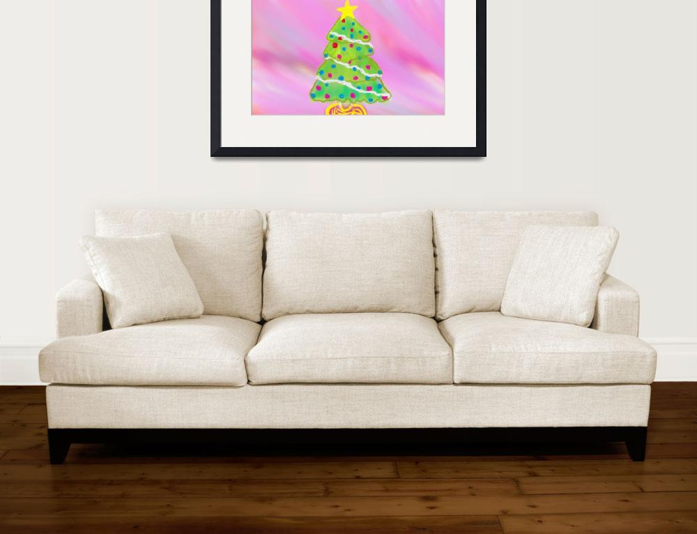 """""""Christmas Tree&quot  (2010) by angbkrtreasures"""