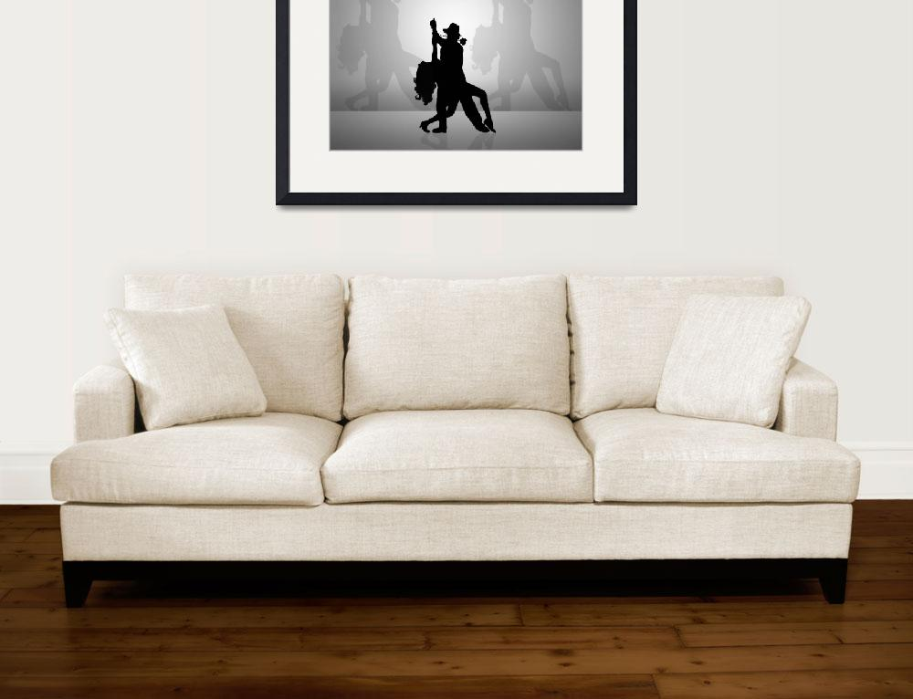 """""""Silhouette Dancers&quot  (2012) by Ninas4otos"""