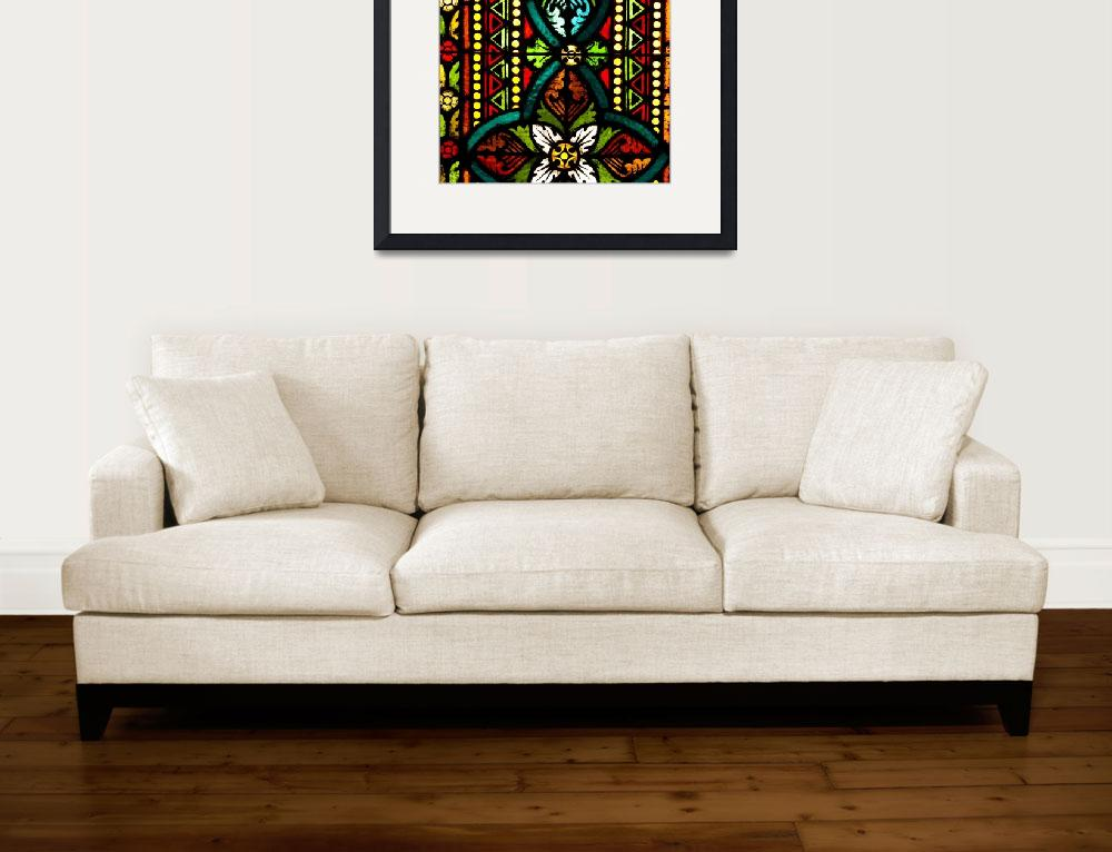 """""""Stained Glass&quot  (2016) by raetucker"""