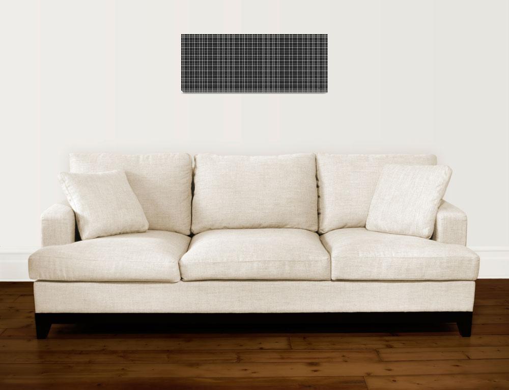 """23c6 Abstract Geometric Digital Art Gray""  (2016) by Ricardos"