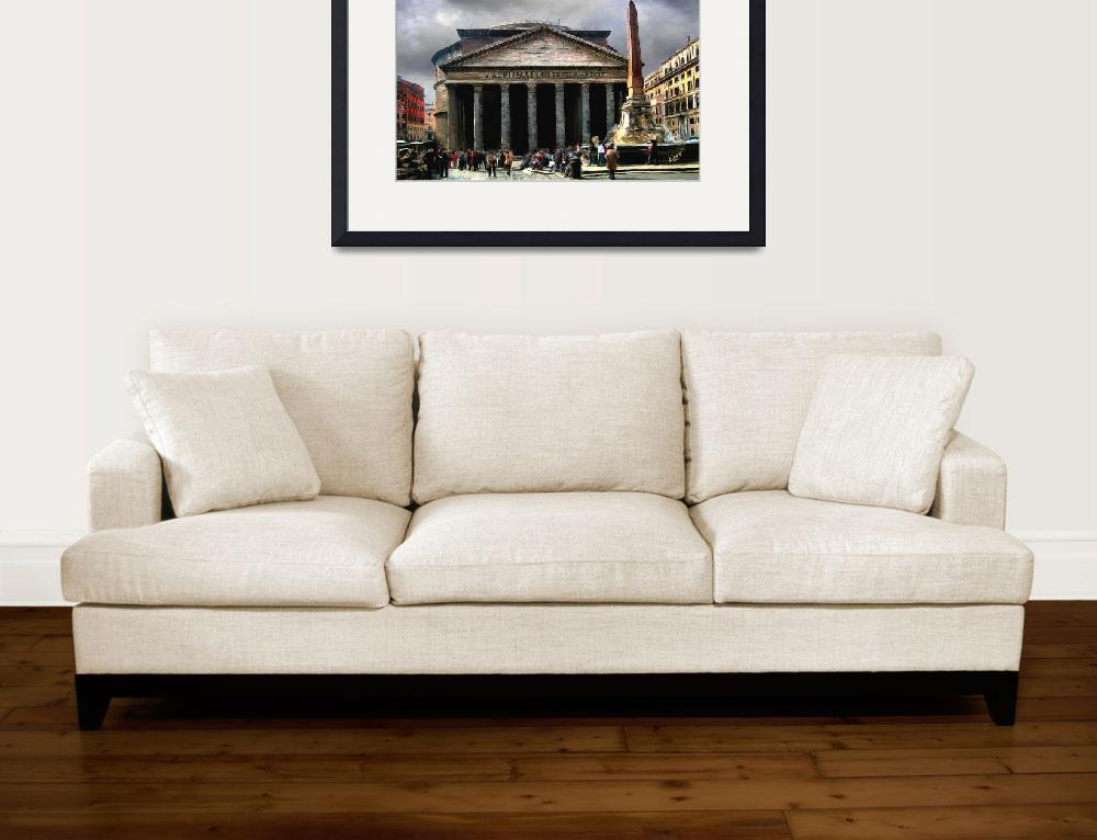 """""""Roman Pantheon&quot  (2009) by knightvision"""