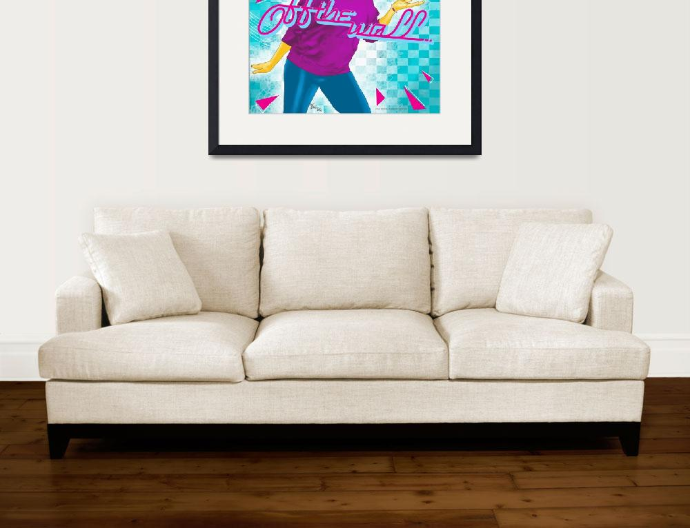 """""""Off the Wall""""  by leroyrockWELL"""