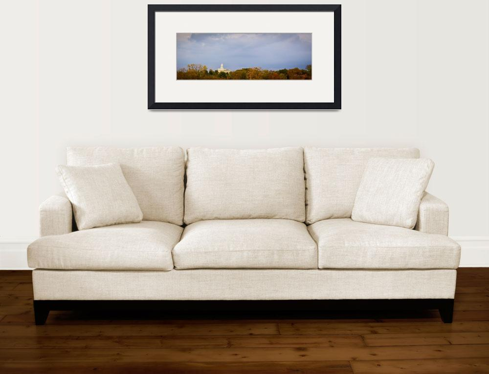 """""""Nauvoo Temple Pano by Kelly Jones&quot  (2017) by dbwalton"""
