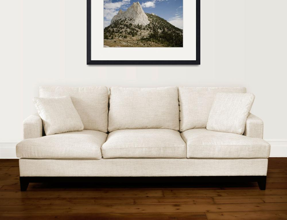 """""""Cathedral Peak""""  (2008) by Eileen"""