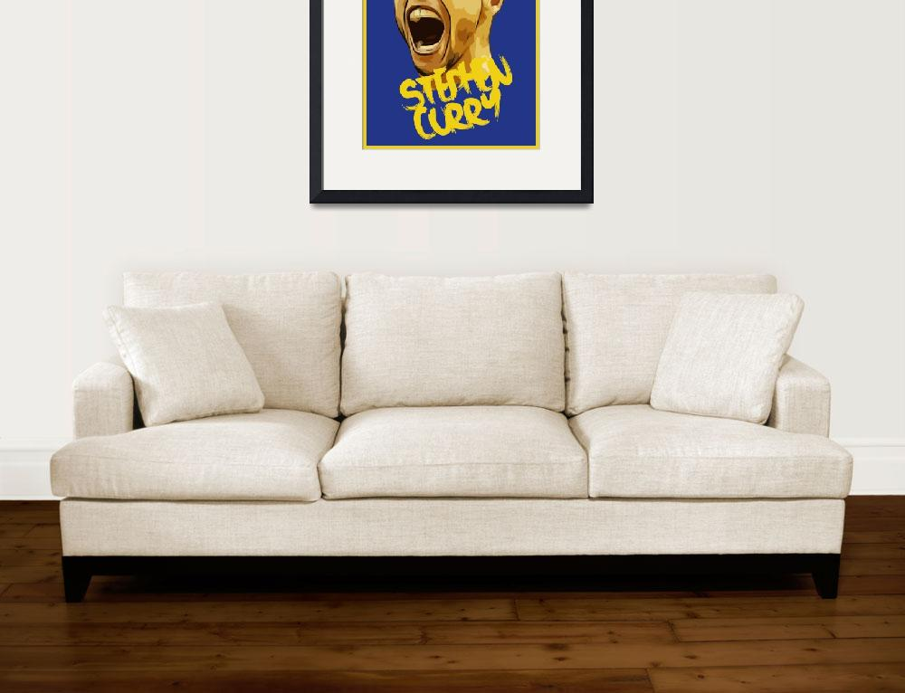 """""""Stephen Curry&quot  (2016) by taylansoyturk"""