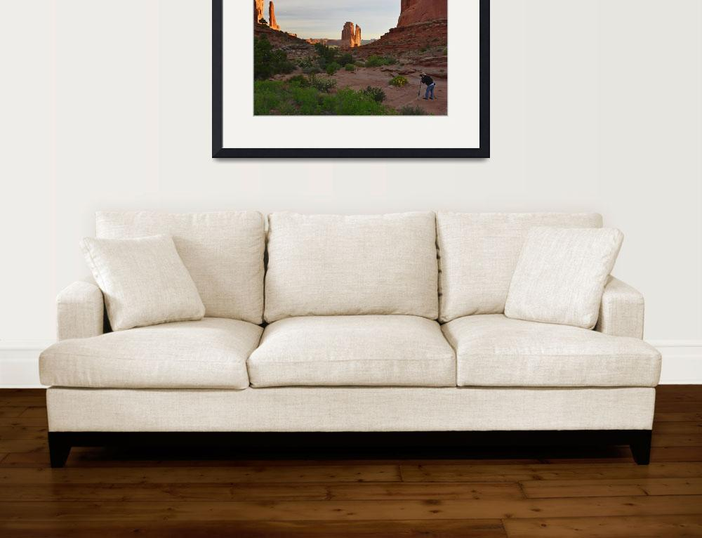 """""""Photographing in Arches National Park&quot  (2016) by JohnChaoPhoto"""
