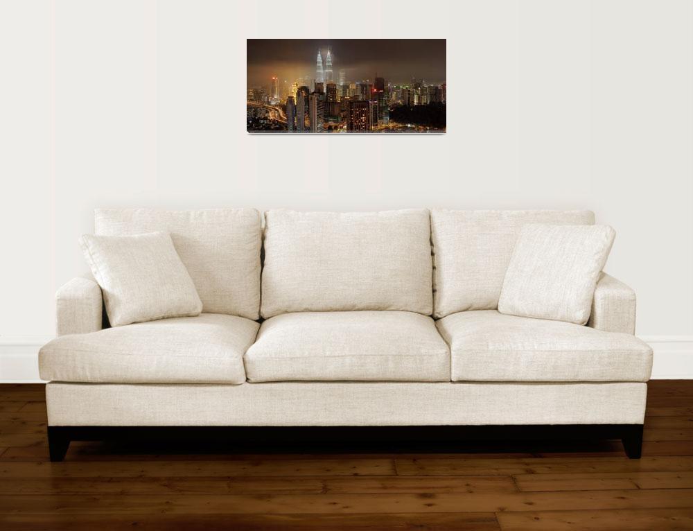 """""""Kuala Lumpur Panorama""""  (2013) by vedd"""