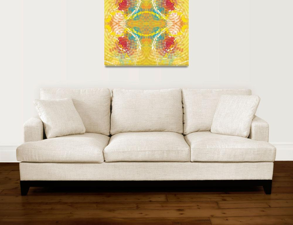 """""""Yellow Abstract II""""  (2013) by TolliverArts"""