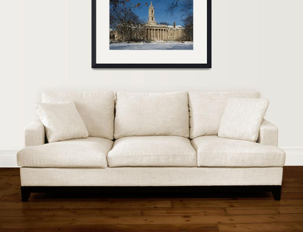 """""""Old Main in the Winter&quot  (2009) by williamames"""