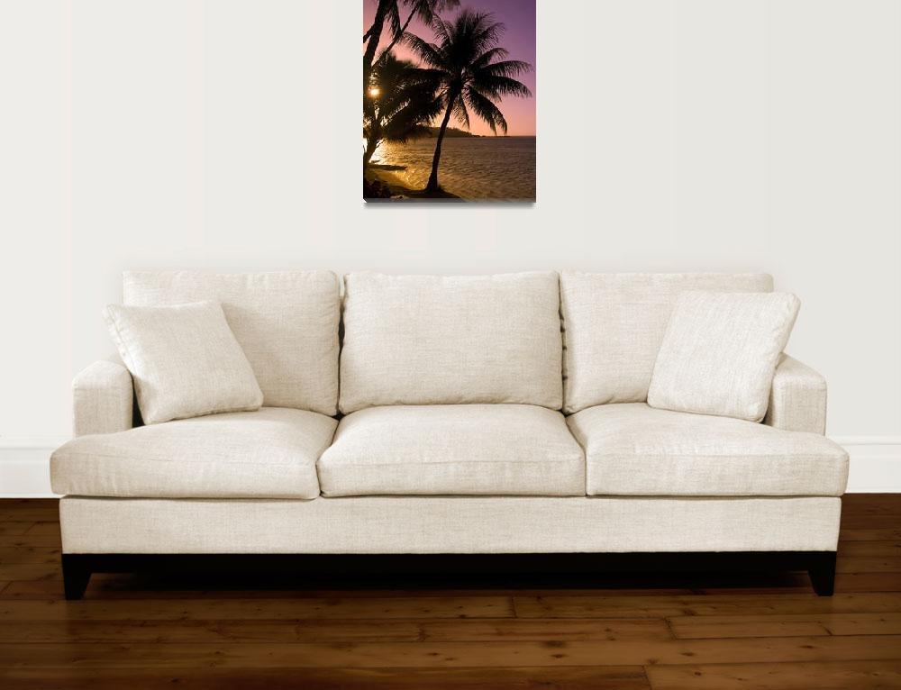 """Tropical Sunset&quot  by SeBuKi"