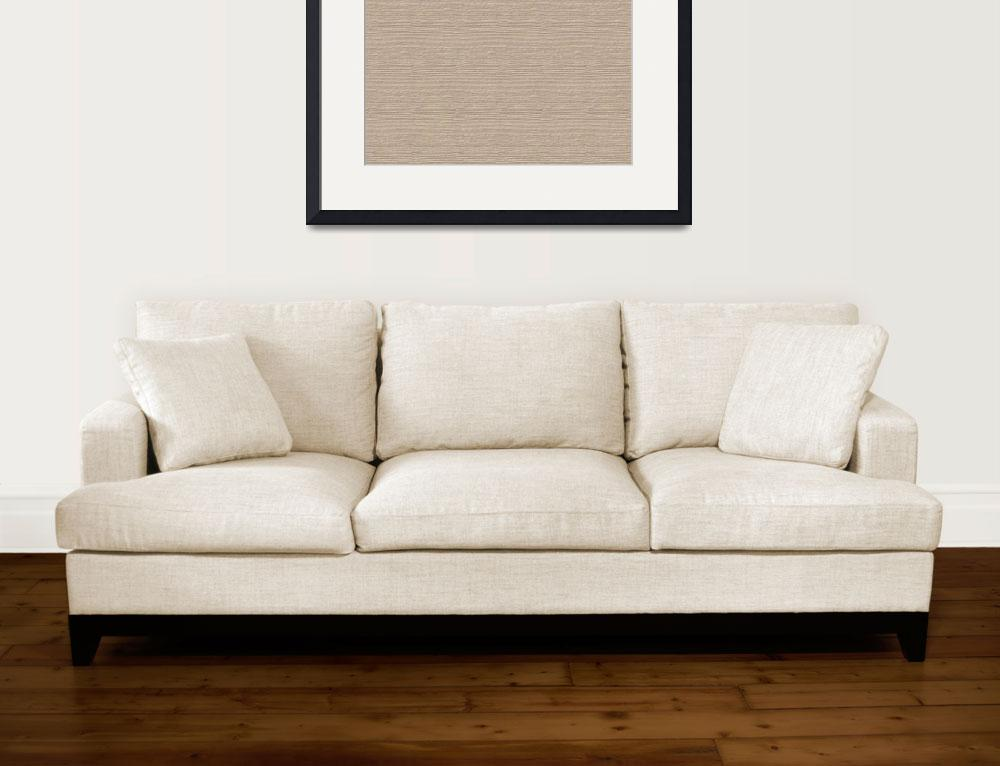 """""""Frosted Almond Wood Grain Color Accent&quot  (2014) by SaraValor"""