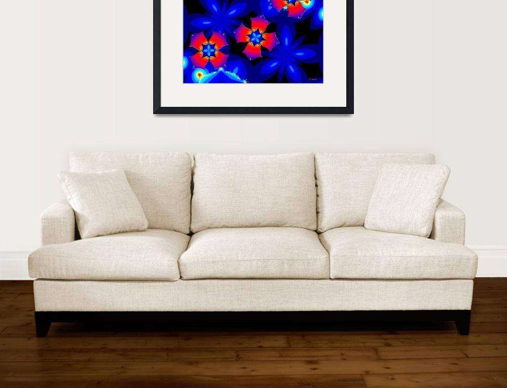 """Floral Fractal Fantasy 2&quot  (2011) by Chicagoartist1"