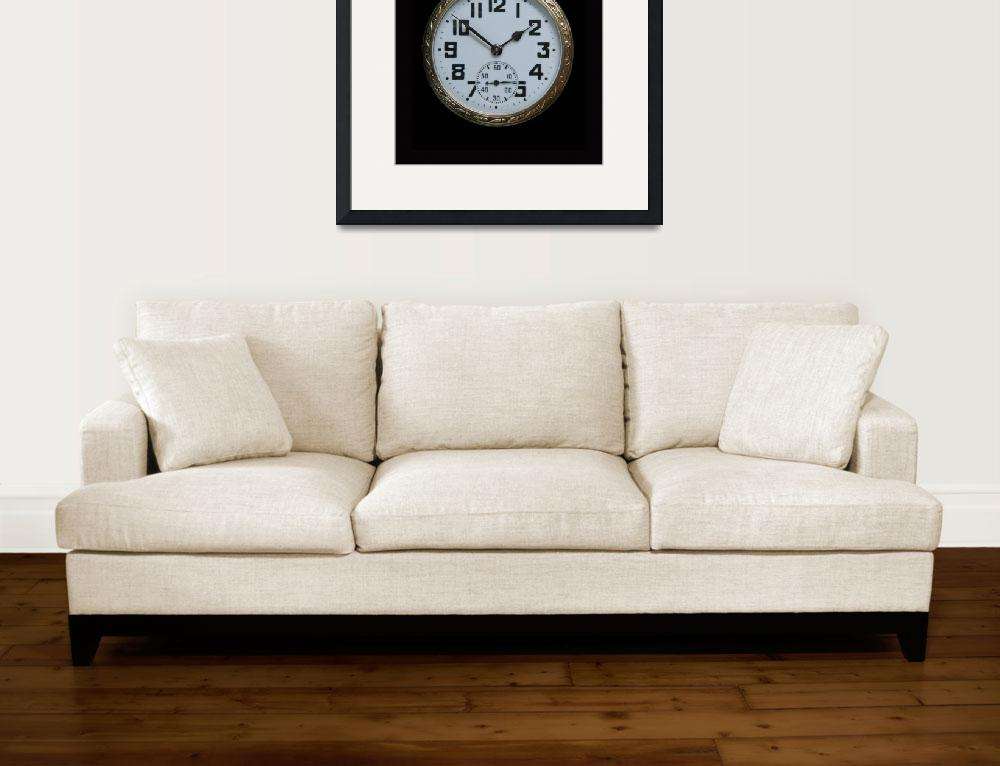 """""""Vintage Art Deco Pocket Watch""""  (2009) by ImageArt-Photography"""