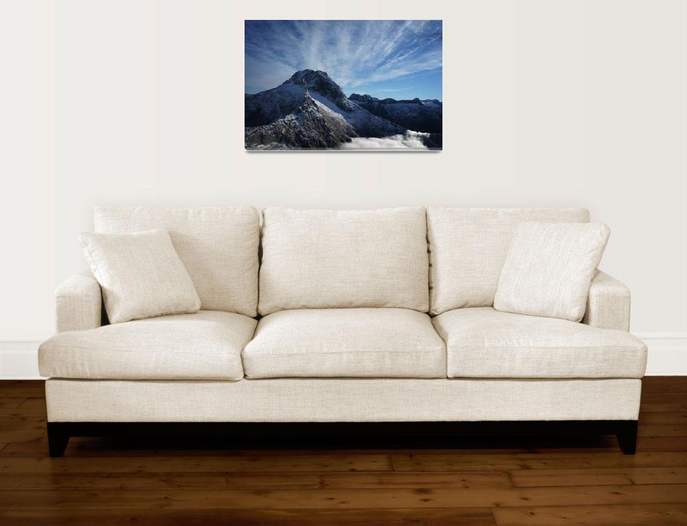 """Fiordlands Peak 3&quot  by danreedphotography"