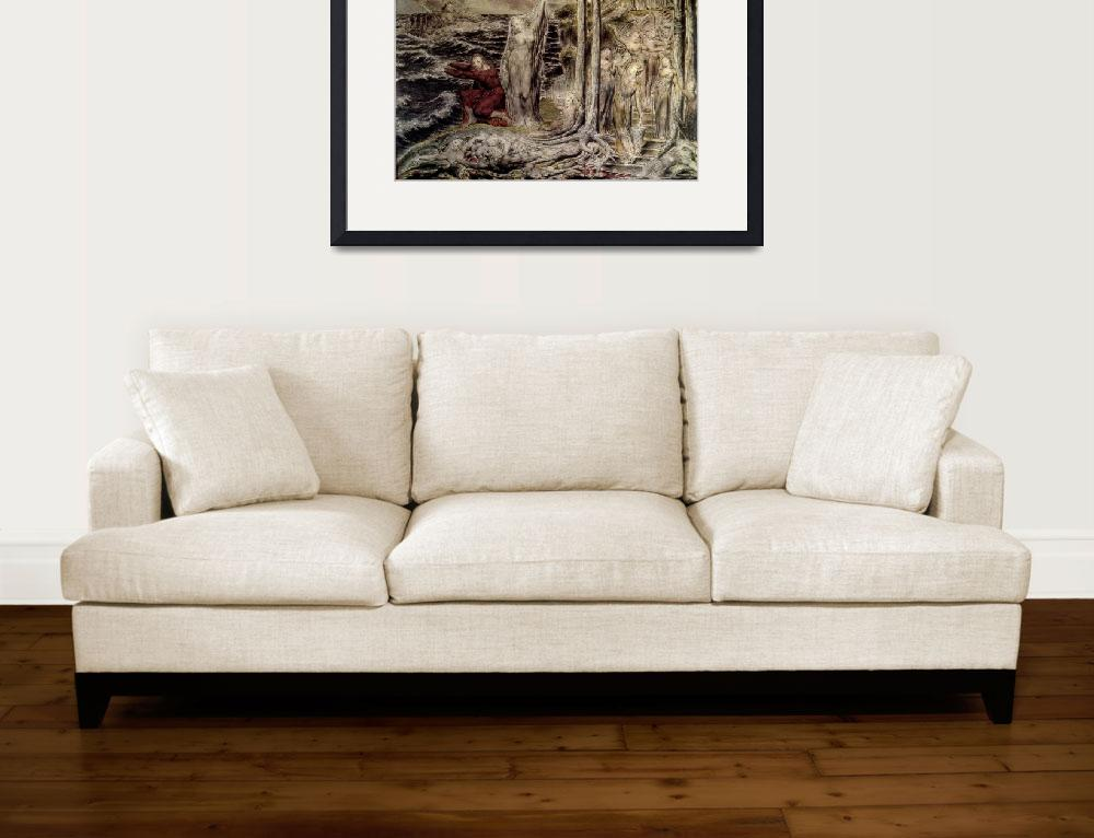 """William Blake Art Framed Print&quot  by buddakats1"