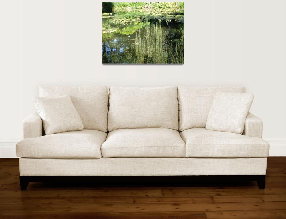 """""""Reflection Waterlilies&quot  by DaniCaliGirl"""