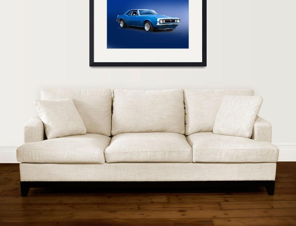 """""""1967 Chevrolet Camaro SS350&quot  by FatKatPhotography"""