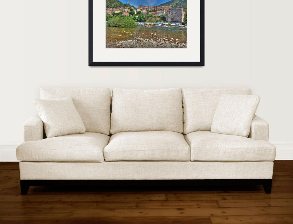 """""""The Village of Roquebrun&quot  by ImageArt-Photography"""