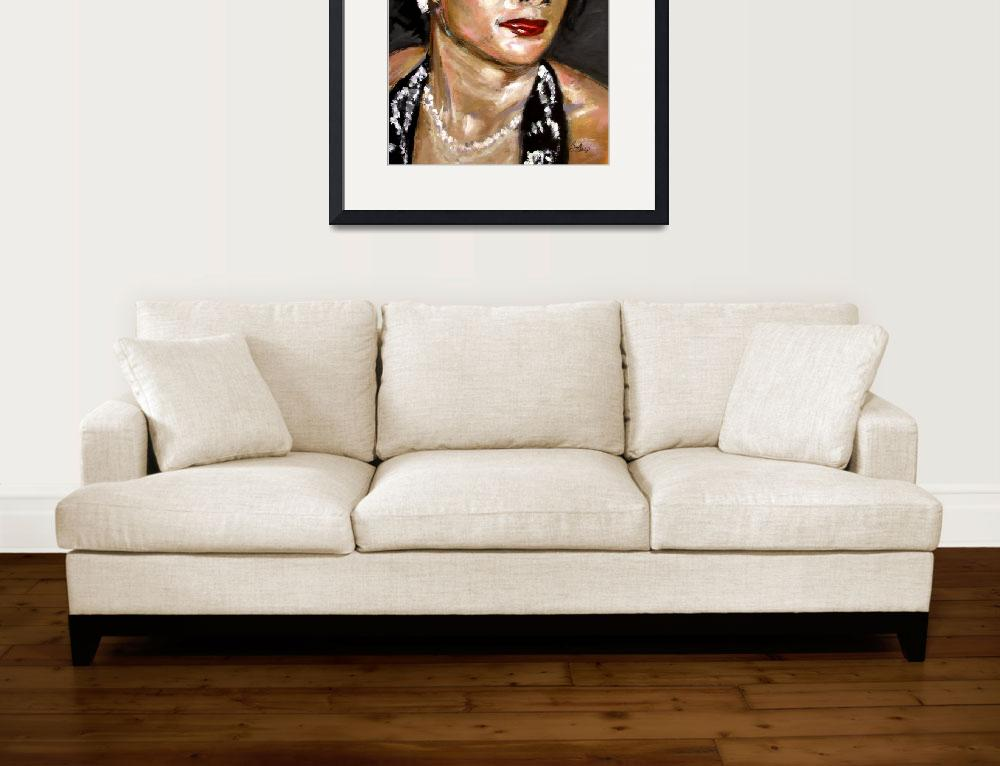 """""""Soul Singer Original Painting by Ginette Callaway&quot  (2002) by GinetteCallaway"""