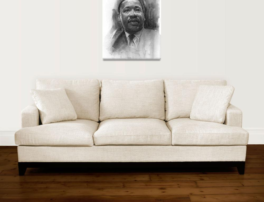 """""""Martin Luther King&quot  (2017) by JamesGoodridge"""