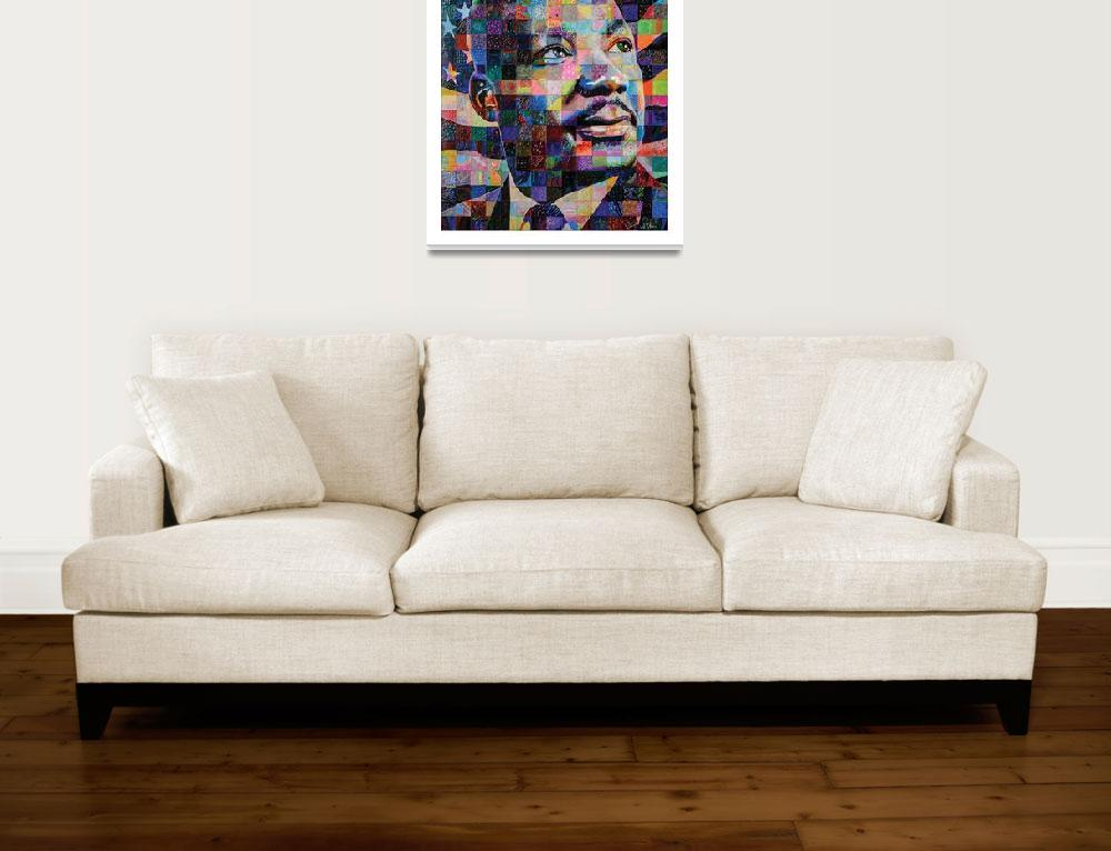 """""""I Have A Dream, An Experiment in Color""""  (2012) by JerryPrice"""