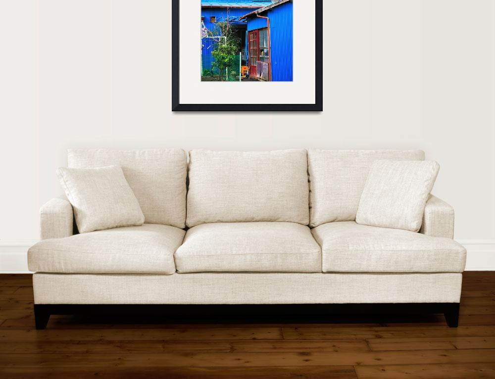 """""""The Blue House&quot  (2008) by JoaoPonces"""