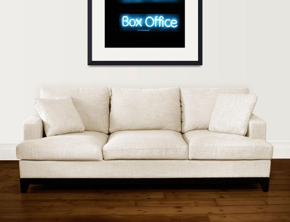 """""""box office&quot  (2007) by rokpix"""