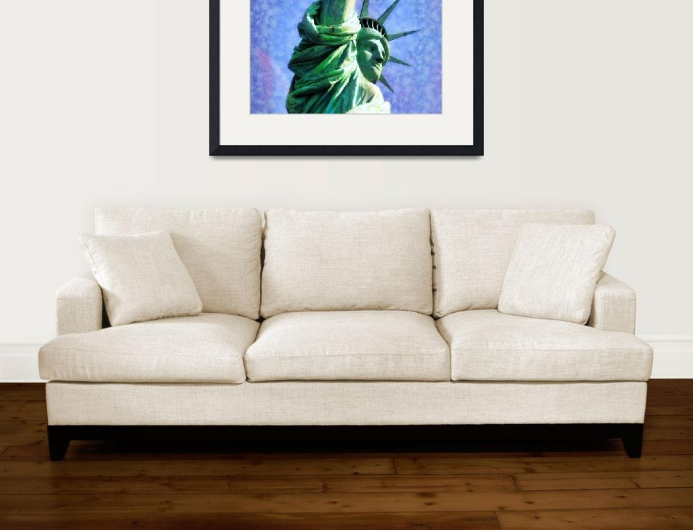 """""""Statue of Liberty""""  (2012) by printsforwalls"""