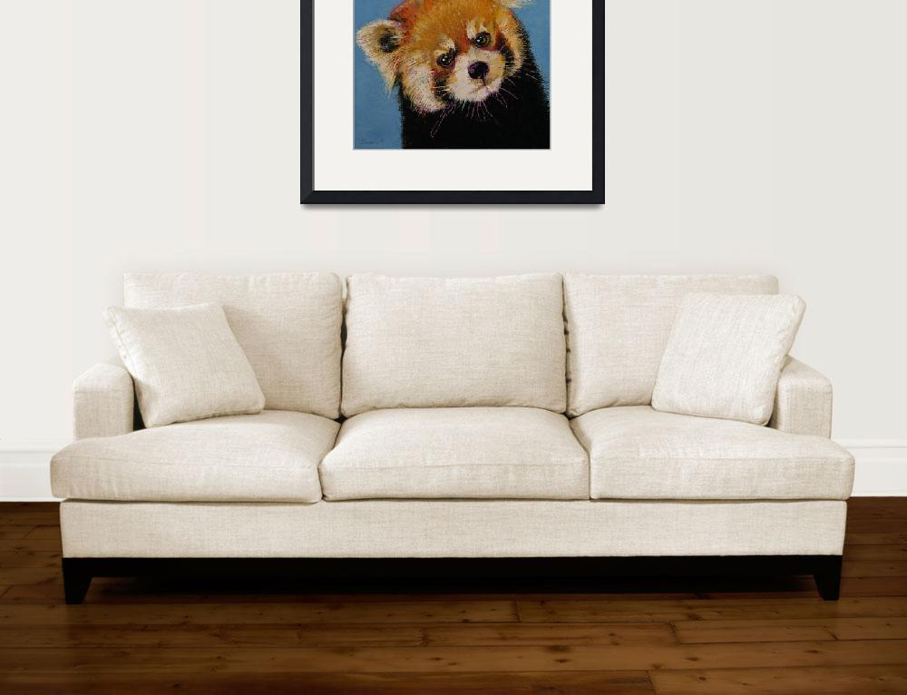 """""""Red Panda&quot  by creese"""