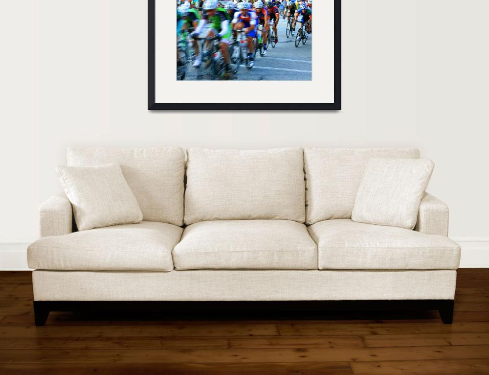 """""""Cycling race 1&quot  by droopydogajna"""