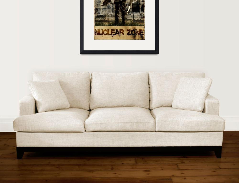 """""""Nuclear Zone&quot  by MartinGros"""