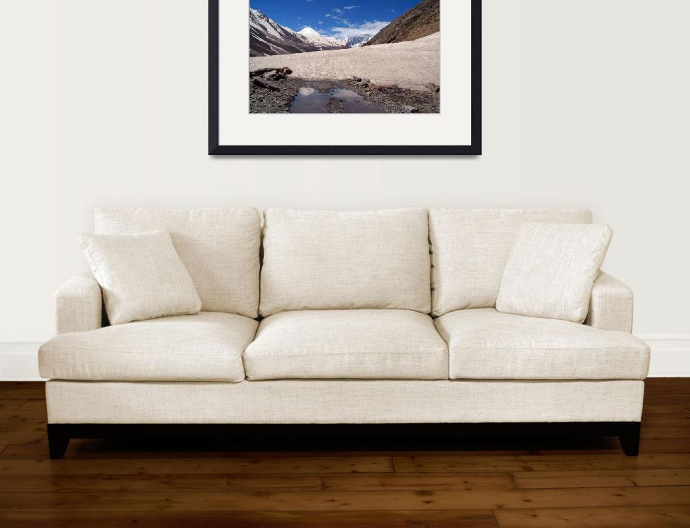 """Snow in the Lahaul Valley&quot  by Serena"