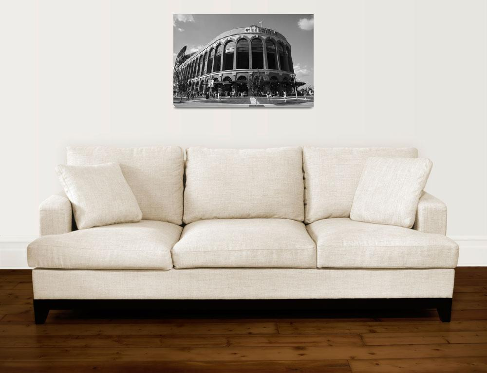 """""""Citi Field - New York Mets 2011&quot  (2011) by Ffooter"""