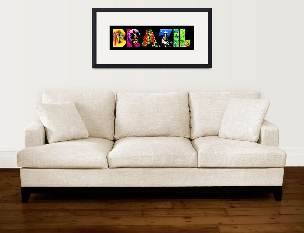 """Brazil&quot  (2013) by izmetsdream"