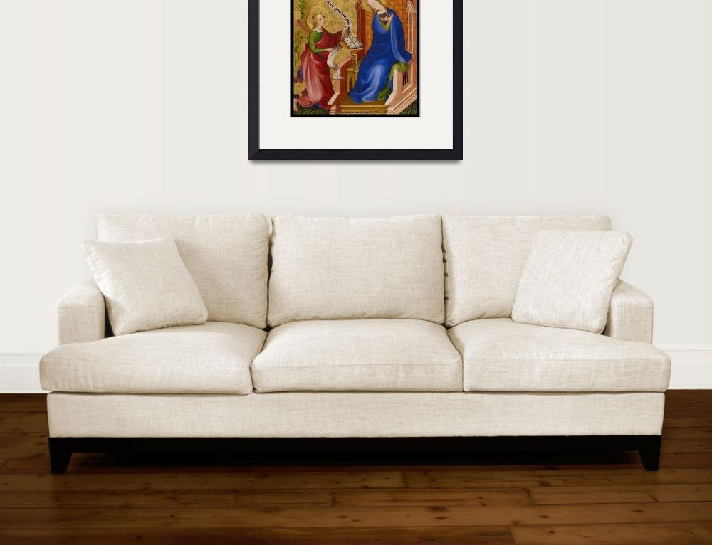 """""""Annunciation by Bellini&quot  (2019) by dianeaddis"""