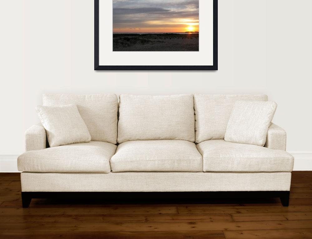 """Seascape Sunset""  (2006) by rgarber"
