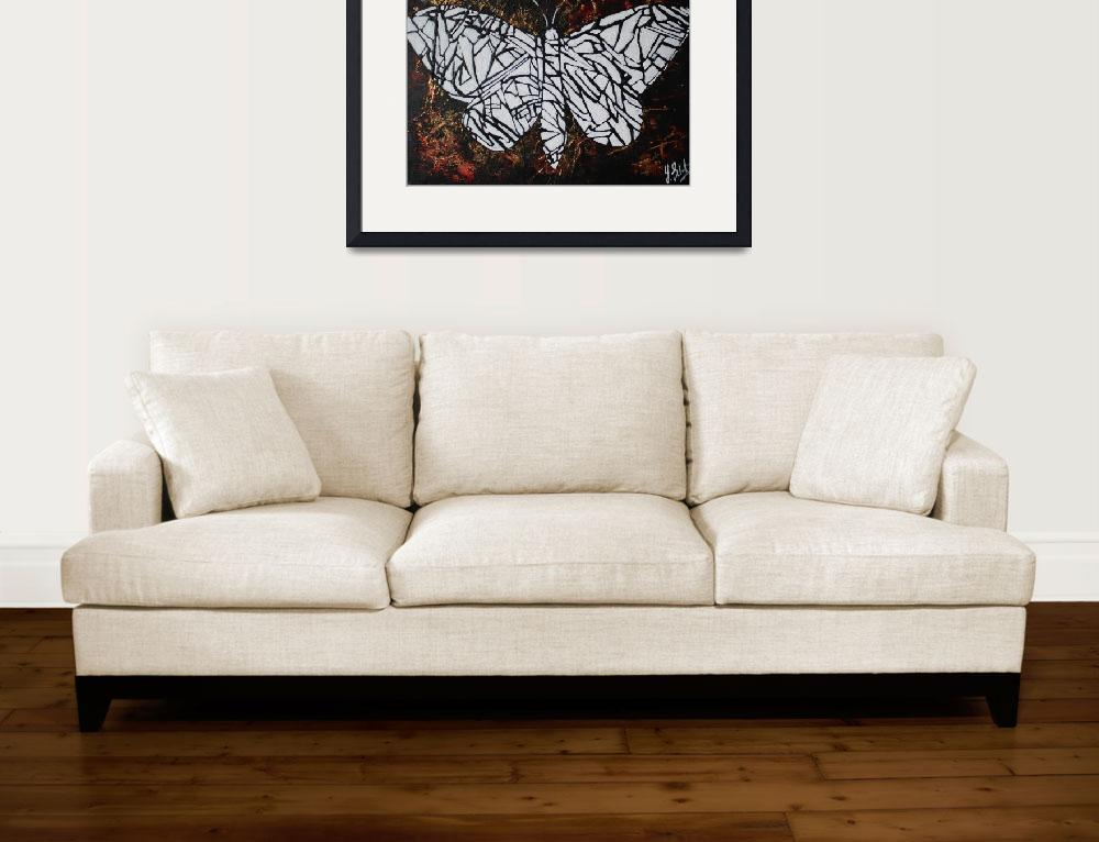 """""""Moth&quot  (2011) by TheArtistYvonneSelvaratnam"""