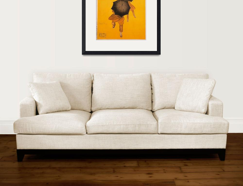 """""""Vintage Poster Framed Print&quot  by buddakats1"""