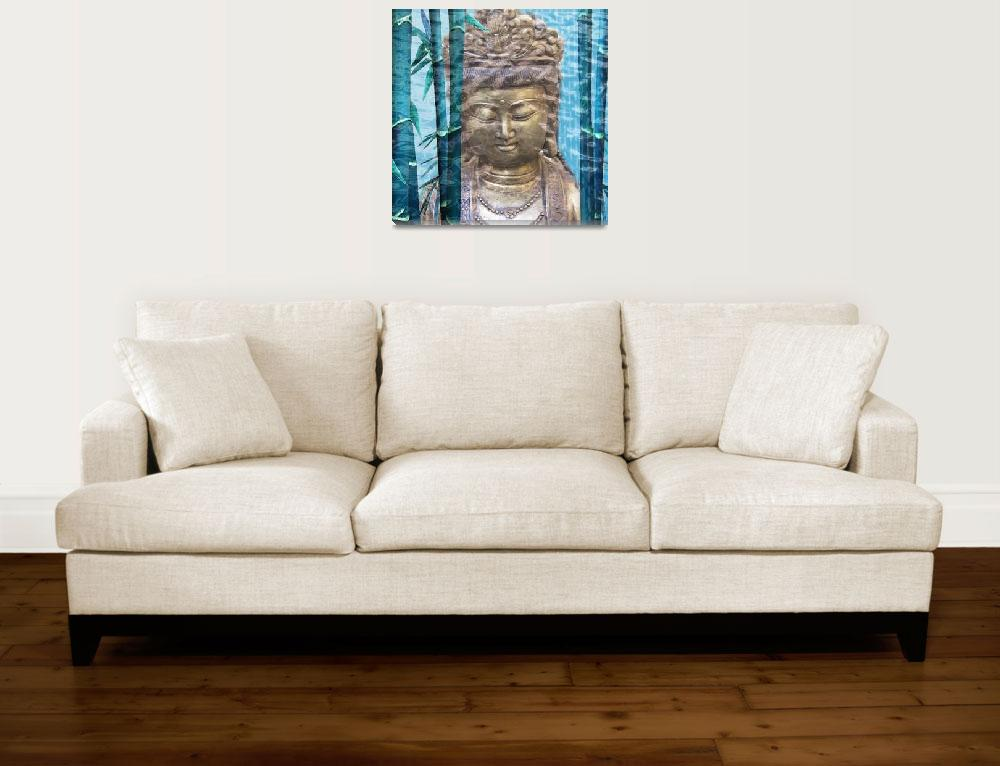 """""""Buddha #08&quot  (2012) by NickBiscardiArt"""