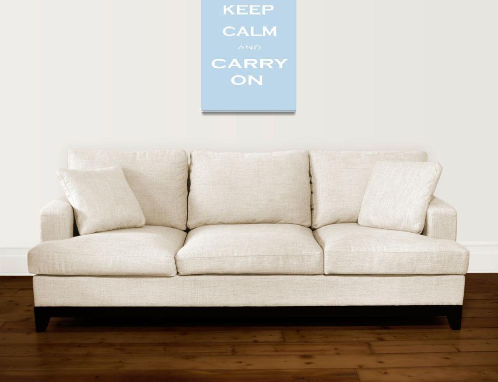 """Keep Calm&quot  (2009) by rickimountain"