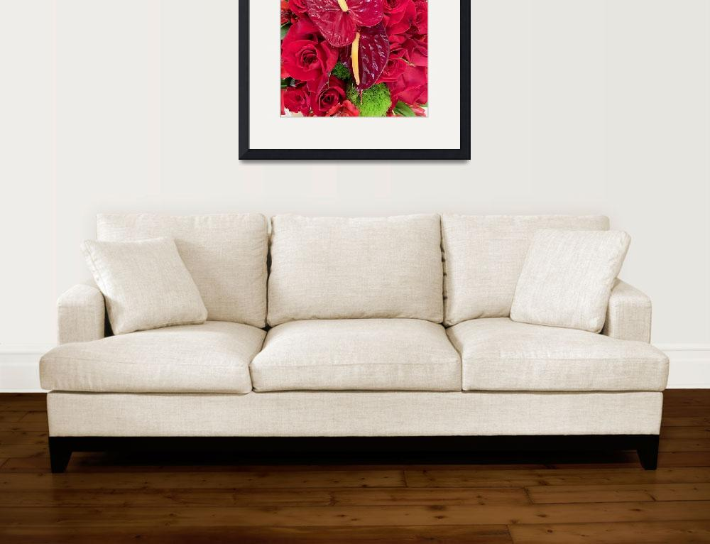 """""""Floral Reds Study 1&quot  (2019) by robertmeyerslussier"""