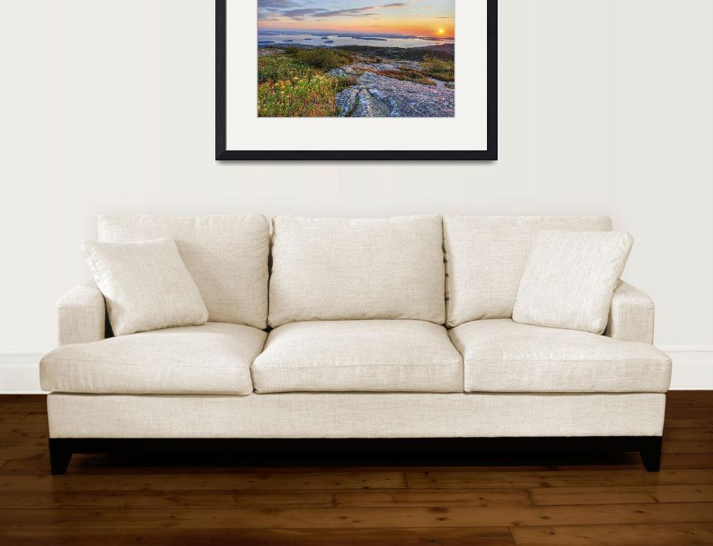 """""""Cadillac Mountain Sunrise - Acadia National Park&quot  (2009) by Gold41"""