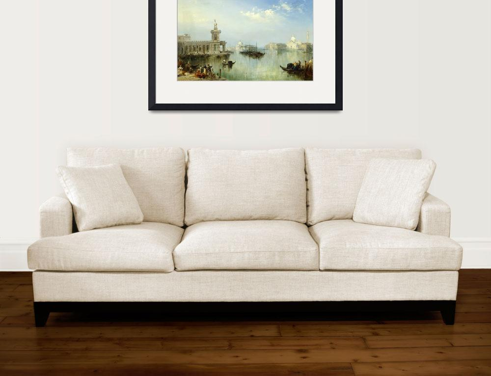 """""""A View of Venice&quot  by fineartmasters"""