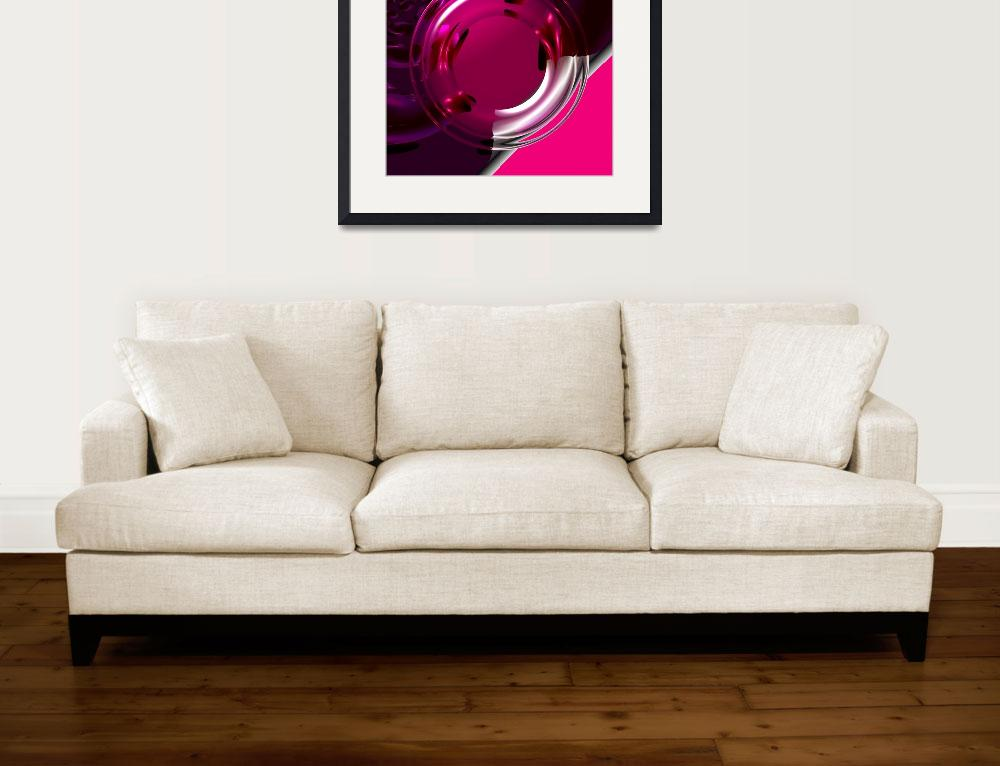 """""""Pink Candy&quot  (2008) by ArtPrints"""