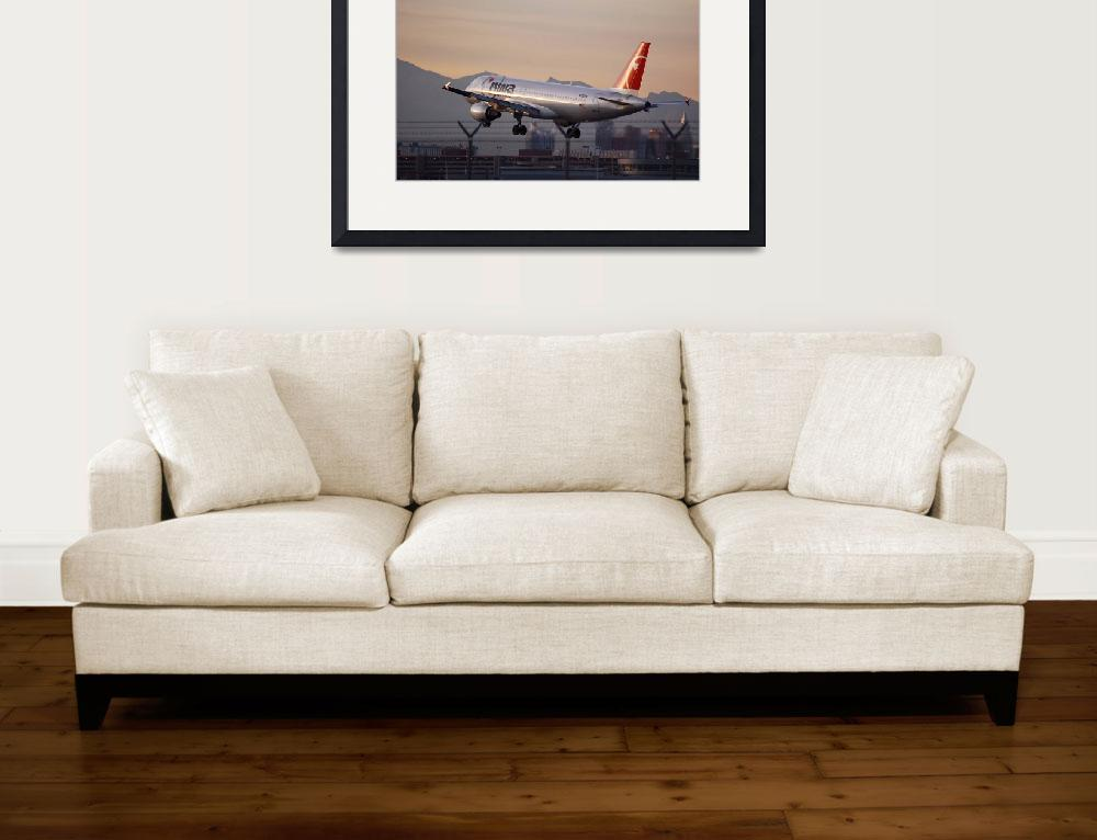 """""""NORTHWEST AIRLINES A320&quot  by Frick187"""