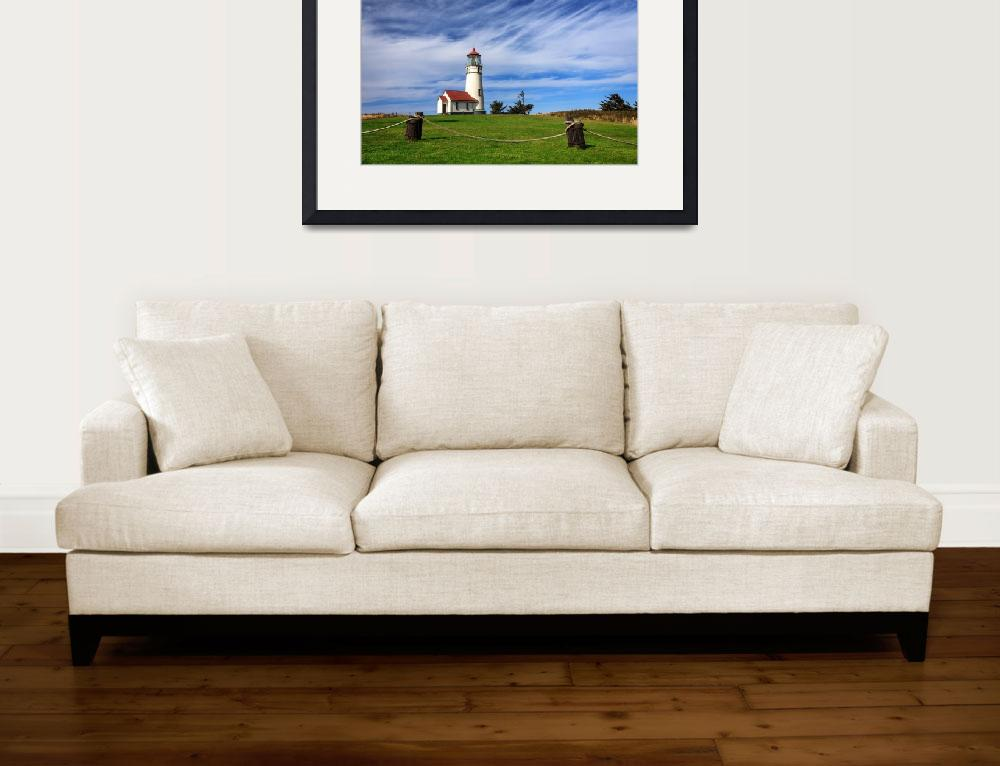 """""""Cape Blanco Lighthouse Above The Rope""""  (2010) by jameseddy"""