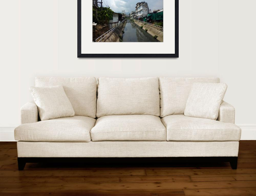"""View of Mae Kha Canal Chiang Mai&quot  (2009) by vampireskunk"
