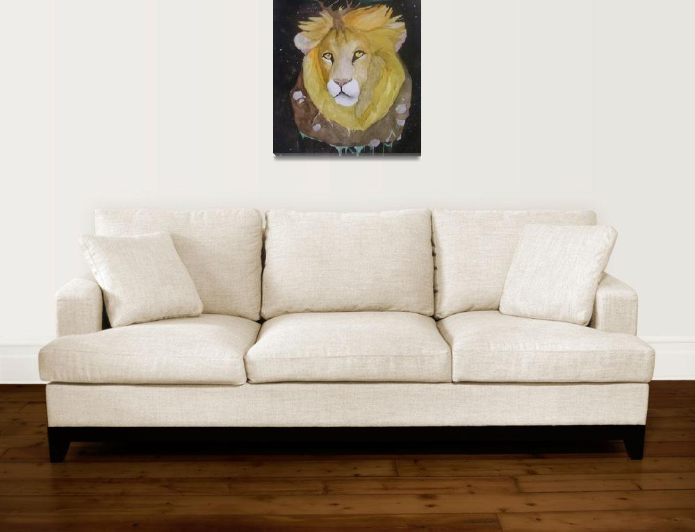 """""""Lion contemplative""""  (2009) by amber1989"""