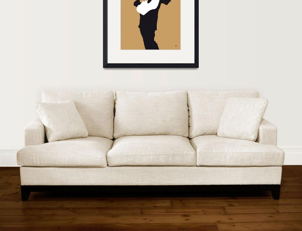 """""""No010 MY Johnny Cash Minimal Music poster&quot  by Chungkong"""