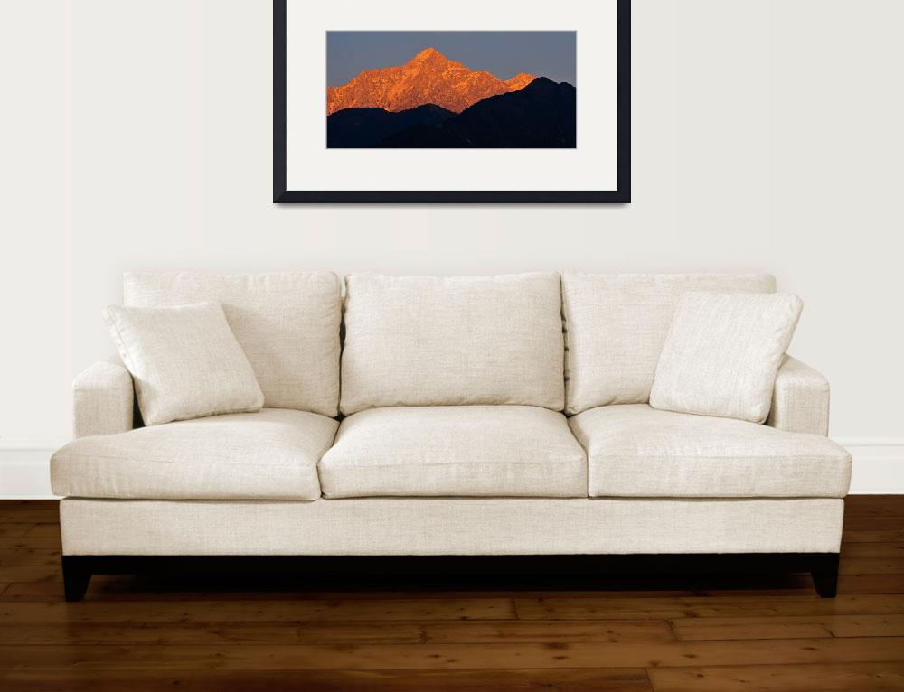 """""""Himalayan Alpenglow&quot  (2011) by boppintheblues"""